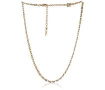 Classics Gold, zweifarbig, 135 cm (17 Zoll) Kette 3 cm Verlängerung