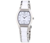 Damen-Armbanduhr XS Analog Quarz Keramik 3218-01