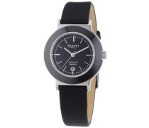 Regent Damen-Armbanduhr XS Analog Quarz Leder 12111081