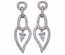 Damen-Ohrringe 925 Sterlingsilber mit Zirkonia ZO-5882