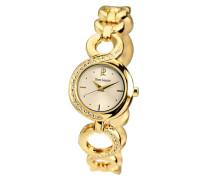 Damen-Armbanduhr Analog Quarz Gold 103F542