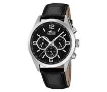 Herren-Armbanduhr Analog Quarz Leder 18155/2