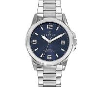Herren-Armbanduhr Analog Quarz Silber 616343