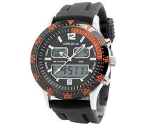 Herren-Armbanduhr Analog - Digital Quarz Silikon