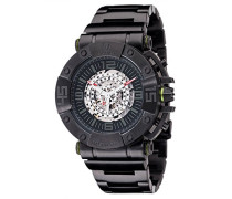 Detomaso Herren-Armbanduhr Machineer Analog Automatik Edelstahl DT-ML102-B