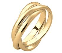 Ring Wickelring Trio Basic 925 Silber vergoldet 0601350317