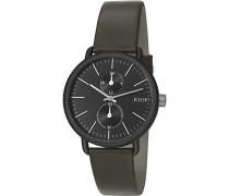 ! Herren-Armbanduhr Matthew Analog Quarz Leder JP101731001