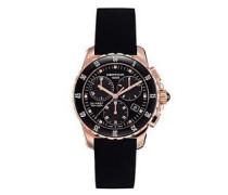 Certina Damen-Armbanduhr XS Chronograph Quarz Kautschuk C014.217.37.051.00