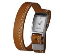 Levis Damen-Armbanduhr Analog Quarz Leder L011GICWRN