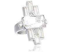 Dyrberg/Kern Damen-Ring Edelstahl Kristall Swarovski 336388