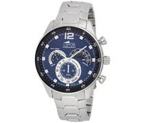 Herren-Armbanduhr Analog Quarz Edelstahl 10120/2