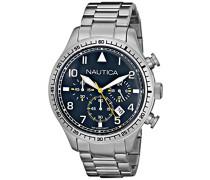 Herren-Armbanduhr Analog Quarz Edelstahl N18713G