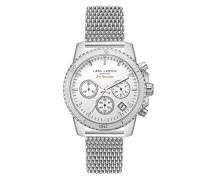 Damen-Armbanduhr LW42 Analog Quarz Edelstahl 142SWWSM
