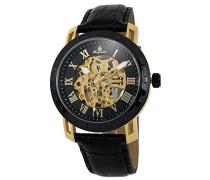Herren-Armbanduhr XL Analog Automatik Leder BM328-222B