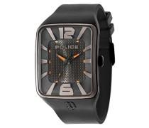 Police Savannah Herren-Armbanduhr Analog Quarz Silikon - PL.94741AEU/02P