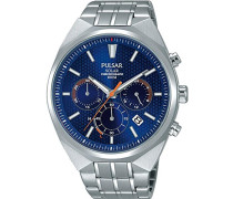 Herren-Armbanduhr Solar Analog Edelstahl PZ5007X1