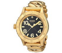 Nixon Damen-Armbanduhr Analog Quarz Edelstahl A4102282
