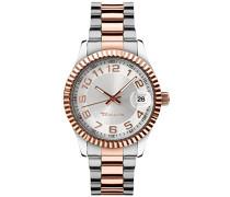 Damen-Armbanduhr Debby Analog Quarz Edelstahl B07404000