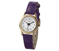 Limit - 6982.35 Damen-Armbanduhr Alyce Quarz analog Armband PU lila