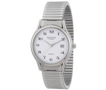 Herren-Armbanduhr XL Analog Edelstahl 11310038