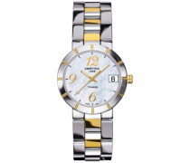 Damen-Armbanduhr XS Analog Quarz Edelstahl C009.210.55.112.00