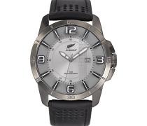 Herren-Armbanduhr Analog Quarz Leder 680186