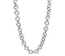 Damen-Halsband 925 Sterling rhodiniert silber ZK-2715