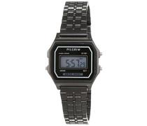 Damen-Armbanduhr Digital Automatik Edelstahl 701543020