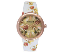 Damen-Armbanduhr Analog Quarz Leder CLD 005-2TB