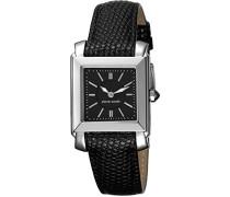 Damen-Armbanduhr Le Lustre Analog Quarz Leder Swiss Made