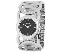 Damen-Armbanduhr Analog Quarz Edelstahl M11411-145