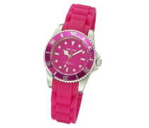 Watches Damen Armbanduhr XS Analog Silikon pink 468000001-4