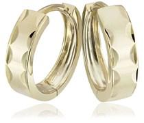 Goldmaid Damen-Creolen diamantiert 375 Gelbgold