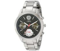 Damen-Armbanduhr Analog Quarz Edelstahl VC-5243BKSV