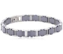 Damen-Armband Titan Keramik schwarz 20.5cm 0388-02