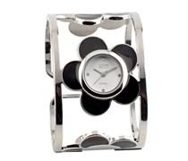 Eton Damen-Armbanduhr Analog andere Materialien schwarz 2837J-0