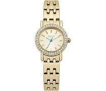 OASIS Damen-Armbanduhr Analog Quarz Gold B1343