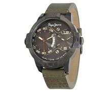 Herren-Armbanduhr Carrie Analog Quarz Edelstahl R2351107003