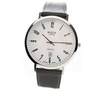 Boccia Herren-Armbanduhr Analog Quarz Leder 3589-08