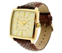 ! Damen-Armbanduhr Analog Quarz Leder JP100732F04U
