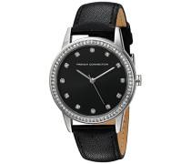 French Connection Damen-Armbanduhr Analog Quarz Leder FC1251BA