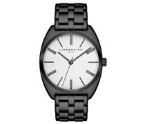 Unisex-Uhr Analog Quarz mit Edelstahlarmband – LT-0004-MQ