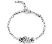 Damen Armband Edelstahl Drops silber SCZ346