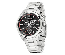 Herren-Armbanduhr 180 Chronograph Quarz Edelstahl R3273690008