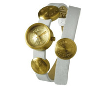 Levis Damen-Armbanduhr Analog Quarz Leder L004GIGGRW