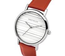 Karen Millen Damen-Armbanduhr Analog Quarz KM154R