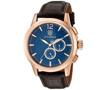 Herren- Armbanduhr Chronograph Quarz SC0266