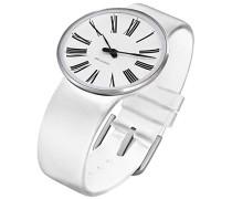 Unisex-Armbanduhr Analog Edelstahl weiss 43461