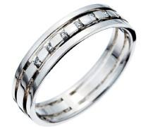Damen-Ring 750 Gold 7 Diamanten 52 (16.6) RD-3349/52