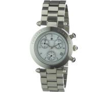 Damen-Armbanduhr Chronograph Quarz Visage CD-VISL-QZ-ST-STST-WH